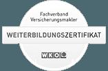 WKO Weiterbildungszertifikat